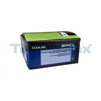 LEXMARK CX510 TONER CARTRIDGE CYAN RP 3K